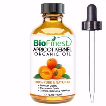 Harga Biofinest Apricot Kernel Organic Oil (100% Pure Organic Carrier Oil) 100ml