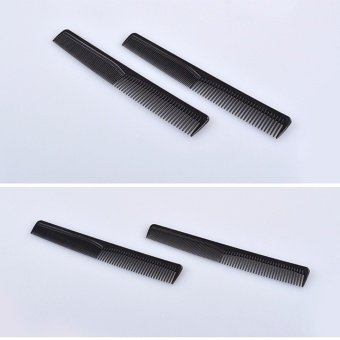 Harga 2 PCS Plastic Cutting Hair Comb Hairdressing Hair Brush Barber Tool - intl