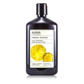 Harga Ahava Mineral Botanic Velvet Cream Wash - Tropical Pineapple and White Peach 500ml/17oz (EXPORT)