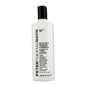 Harga Peter Thomas Roth Glycolic Acid 10% Toning Complex 250ml/8.5oz