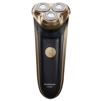 Flyco FS360 Floating Revolving and Double-track Cutter Shaver (Gold)