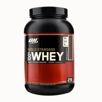 Harga Optimum Nutrition Gold Standard 100% Whey 2.07lbs - Double Rich Chocolate
