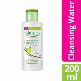 Harga Simple Micellar Cleansing Water 200ml