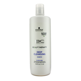 Harga Schwarzkopf BC Scalp Therapy Deep Cleansing Shampoo (For Oily Scalps) 1000ml/33.8oz