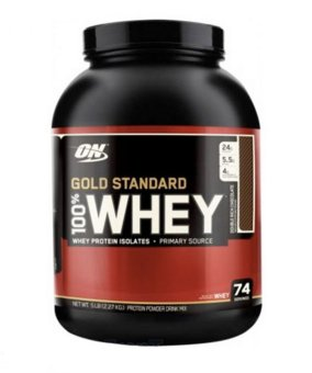 Harga OPTIMUM NUTRITION Gold Standard 100% Whey Extreme Milk Chocolate 5 lbs