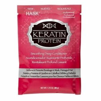 Harga HASK Keratin Protein Smoothing Deep Conditioner 50g