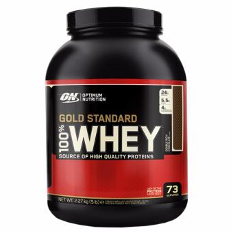 Harga Optimum Nutrition Gold Standard 100% Whey (5lbs) - Double Rich Chocolate