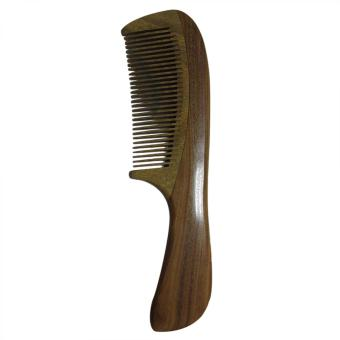 Harga Green Sandalwood No Static Wooden Hair Comb Wood Comb with Handle