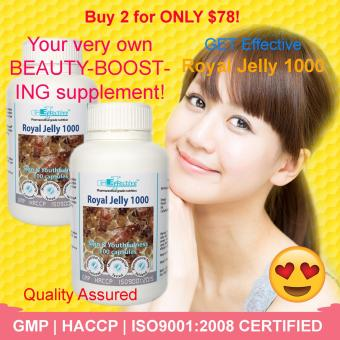 Harga GET Effective Royal Jelly 1000 (1+1)