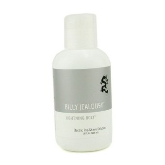 Harga Billy Jealousy Lightning Bolt Electric Pre-Shave Solution 118ml/4oz