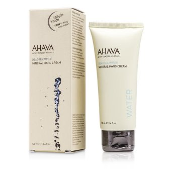 Harga Ahava Deadsea Water Mineral Hand Cream 100ml/3.4oz