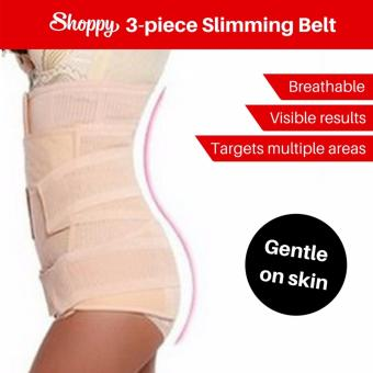 Harga Shoppy 3 Piece Set Waist Tummy Slimming Belt