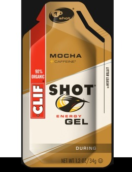 Harga Clif Shot Energy Gel Mocha 24 Pack With Free Gift