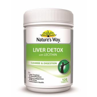 Harga Nature's Way Liver Detox with Lecithin 120 Tablets