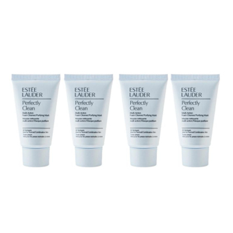 Harga Estee Lauder Perfectly clean multi-action foam cleanser/purifying mask x 4pcs