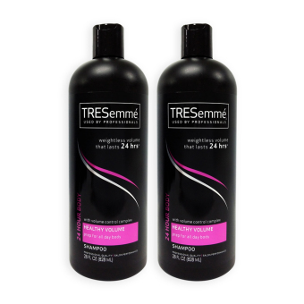 Harga Tresemme Hair Shampoo - 24 Hour Body for Healthy Volume 828ml x 2 Bottles (USA) - 3612