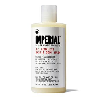 Harga Imperial Barber 3 in 1 Complete Hair and Body Wash