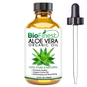 Harga Biofinest Aloe Vera Organic Oil (100% Pure Organic Carrier Oil) 100ml