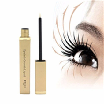 5ml Eyelash Enhancer Rapid Lash EyeBrow Growth Liquid Treatments Thicker Longer Gold - Intl