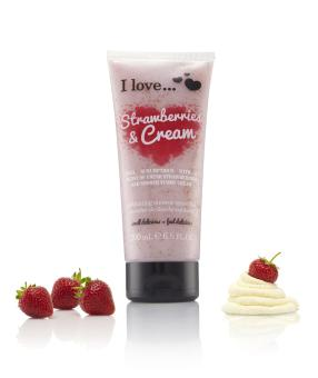 Harga I Love Strawberry & Cream Exfoliating Smoothie 200ml