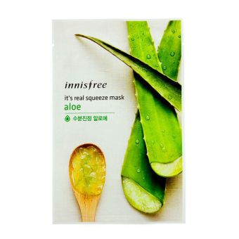 Harga Innisfree Its Real Squeeze Mask - Aloe 10pcs