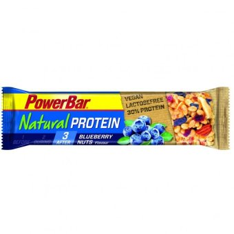 Harga PowerBar Natural Protein Blueberry Nuts 12 Pack With Free Gift