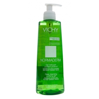 Harga Vichy Normderm Purifying Cleansing Gel 400ml