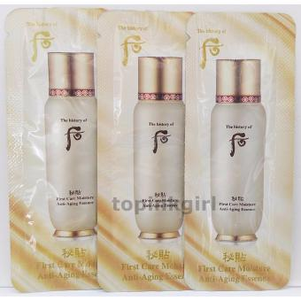 Harga The History of Whoo First Care Moisture Anti-Aging Essence 1ml x 5