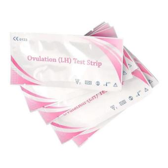 Harga 20 Pcs Ovulation Test Strip Pregnancy Predictor Home Urine Test Kit Strips - intl