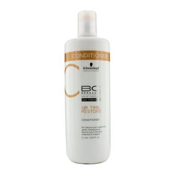 Harga Schwarzkopf BC Time Restore Q10 Plus Conditioner - For Mature and Fragile Hair (New Packaging) 1000ml/33.8oz (EXPORT)
