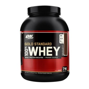 Harga Optimum Nutrition Gold Standard 100% Whey 5lbs Double Rich Chocolate