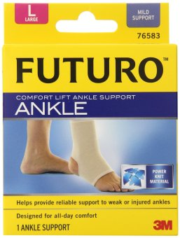 Harga 3M Futuro Spiral Lift Comfort Ankle Support – Large