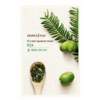 Harga Innisfree Its Real Squeeze Mask - Bija 5pcs