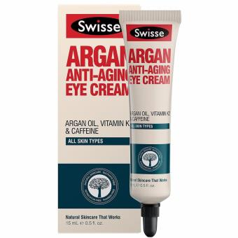 Harga Swisse Argan Anti-Aging Eye Cream 15ml