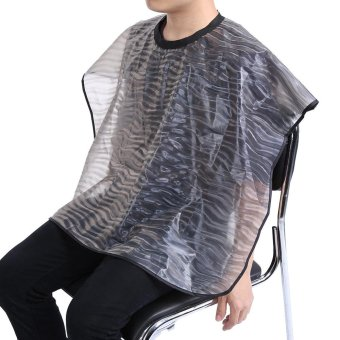 Harga Fashionable Hairdressing Cloth Salon Barber Cape Hair Cutting Gown Hair Styling Apron (S) - intl