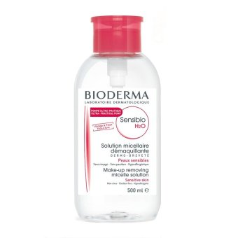 Harga Bioderma Head Pump Sensibio Cleansing Water Make Up Remover 500ml