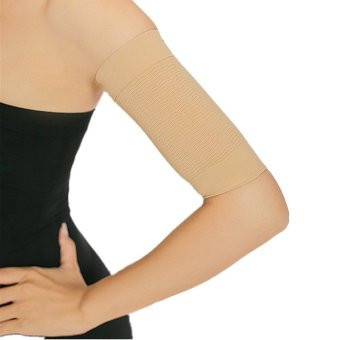 Harga Potent Fat Burning Elastic Compression Arm Slimmer Beige (EXPORT)