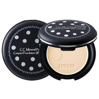 Harga SHEENE CC MINERAL PERFECT FINISH COMPACT FOUNDATION SPF 25 PA++ (C2 NATURAL)