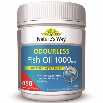 Harga Nature's Way Fish Oil Odourless 1000mg 450 Capsules