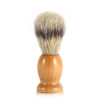 Harga Men Shaving Brush Face Clean Barber Cosmetic Tool #2 - intl