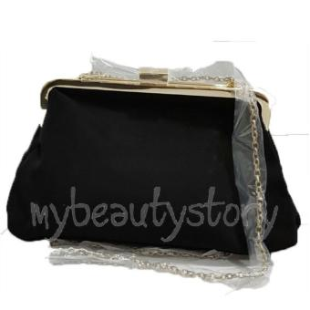 Harga Lancome Cosmetics Sling Bag (Black)