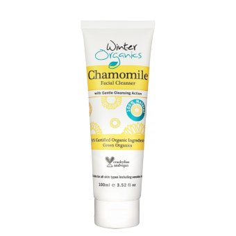 Harga (2 x 100ml tube) Winter Organics Natural and Organic Chamomile Facial Cleanser