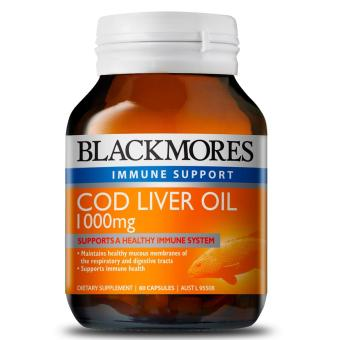 Harga Blackmores Cod Liver Oil 1000mg 80 Capsules