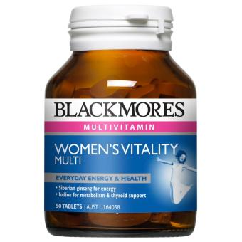 Harga Blackmores Women's Vitality Multi 50 Tablets