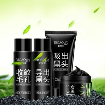 Harga NEW Black Mud Deep Cleansing Blackhead Remover Purifying Peel Face Mask - intl