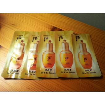 Harga The History of Whoo Qi & Jin Essence samples 1mlx3