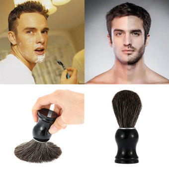 Harga Professional Badger Shaving Brush Resin Handle Mustache Cleansing Barber