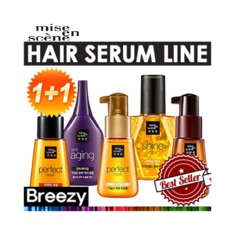 Harga mise en scene 70ml + 70ml Perfect Light Serum - intl