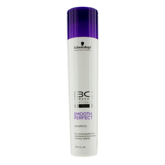 Harga Schwarzkopf BC Smooth Perfect Shampoo (For Unmanageable Hair) 250ml/8.4oz