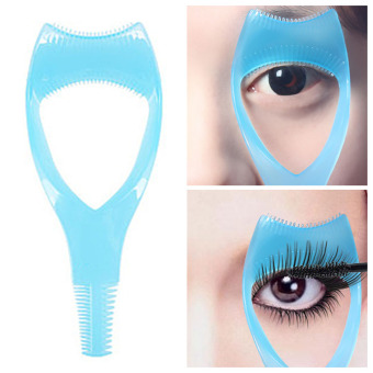 Harga Mascara Applicator Guide Tool Eyelash Comb Makeup Plastic Curler Beauty
